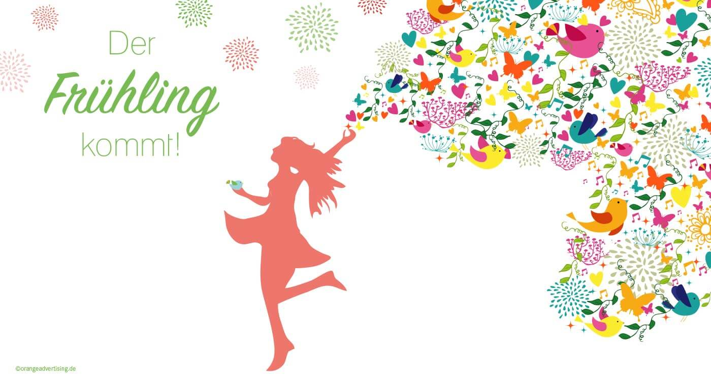 Mailing der Frühling kommt!