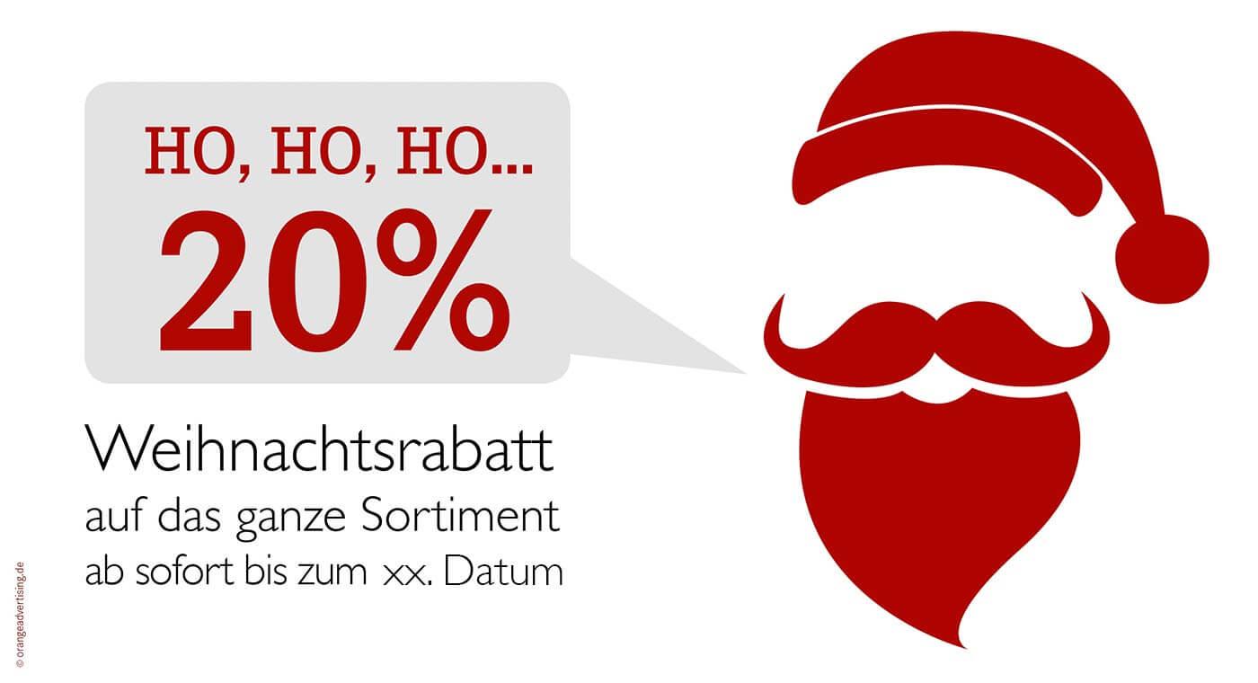 Mailing Weihnachtsmann