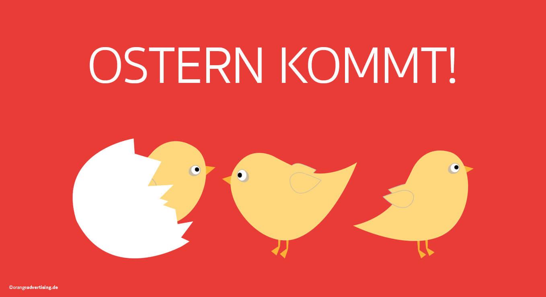 Mailing Osterküken – Ostern kommt!