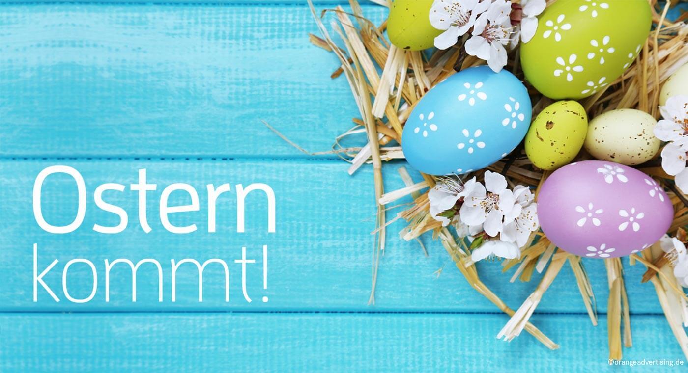 Mailing Osternest – Ostern kommt!