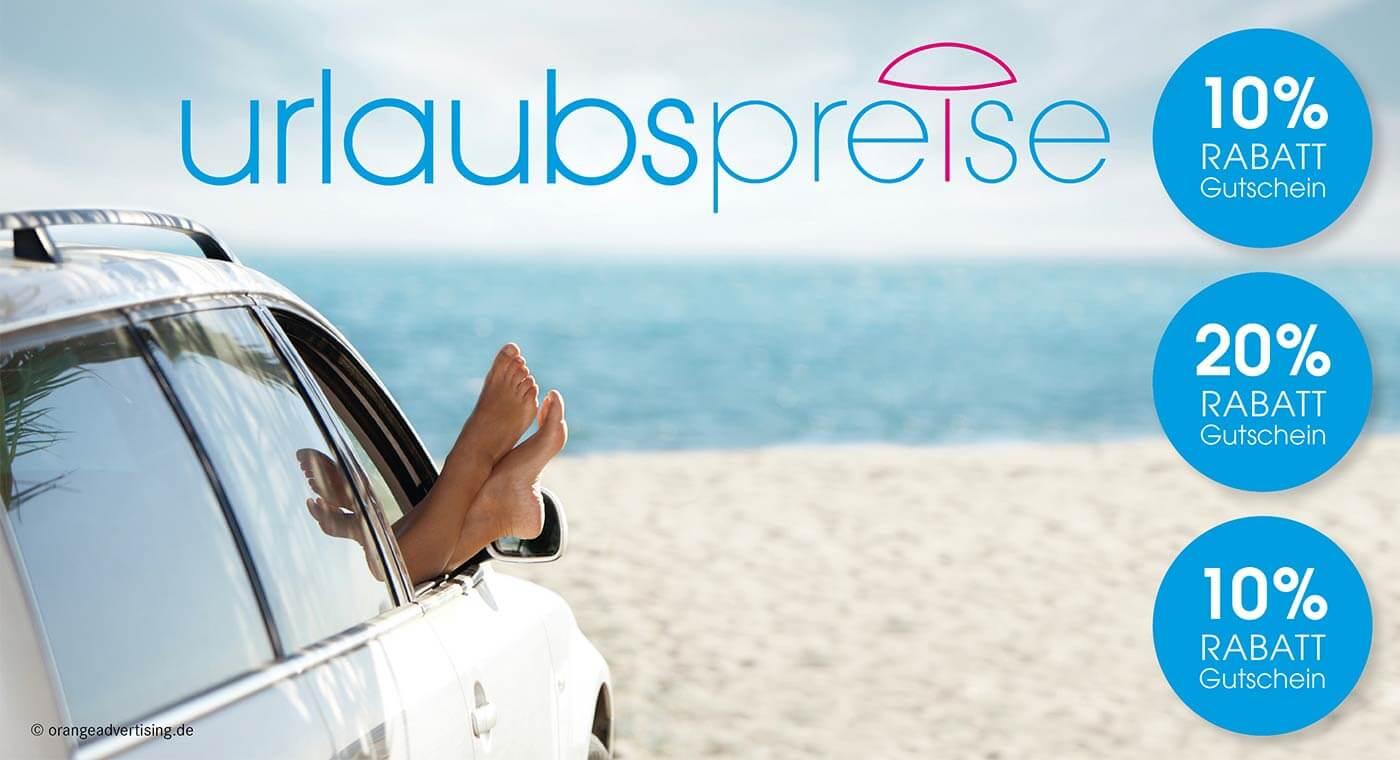 Mailing Urlaubspreise mit Auto
