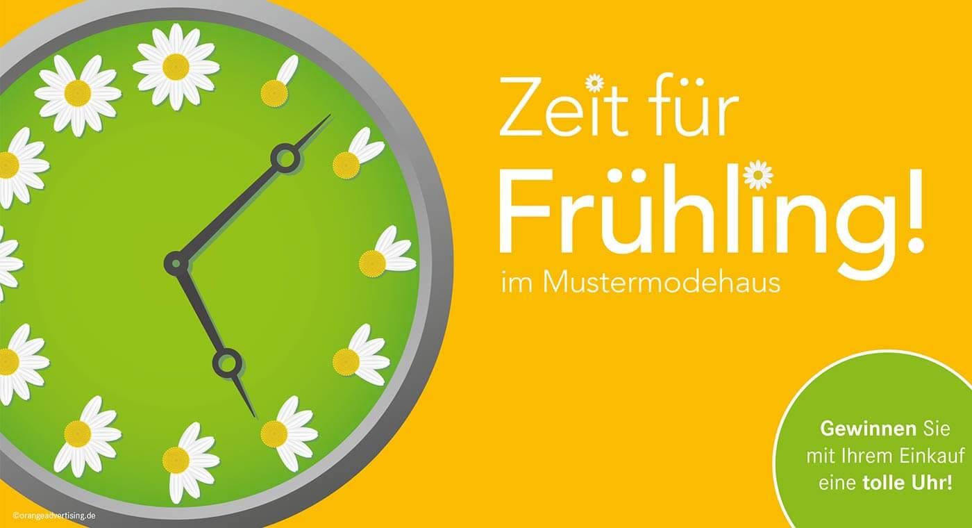 Mailing Zeit für Frühling