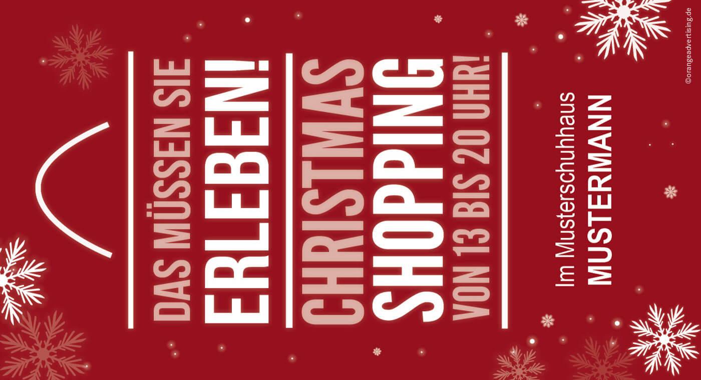 Mailing – Christmas Shopping