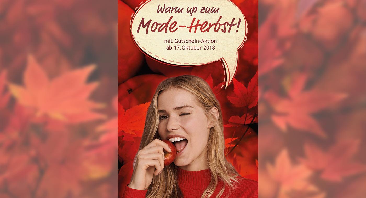 Mailing – Warm up zum Mode-Herbst