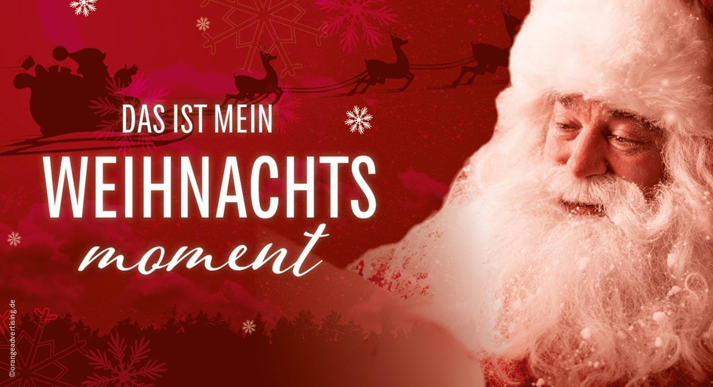 Mailing – Mein Weihnachtsmoment – Santa Claus
